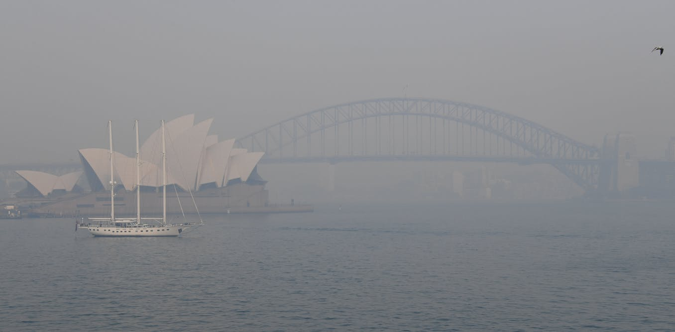 What do Sydney and other cities have in common? Dust
