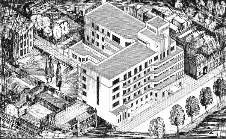 From army barracks to shopping malls: how hospital design has been a matter of life and death