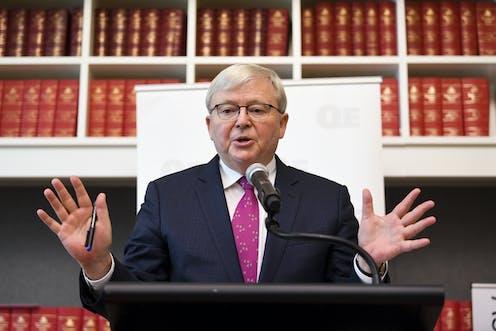Kevin Rudd Urges Australia To Reduce Its Economic Dependence On China