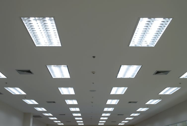 Fluorescent Lighting In School Could Be