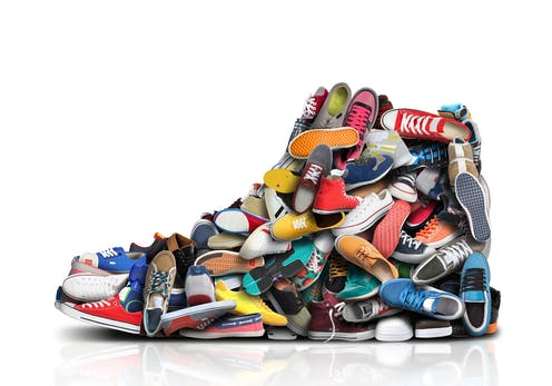 Sneakers have become highly covetable collectors' items.