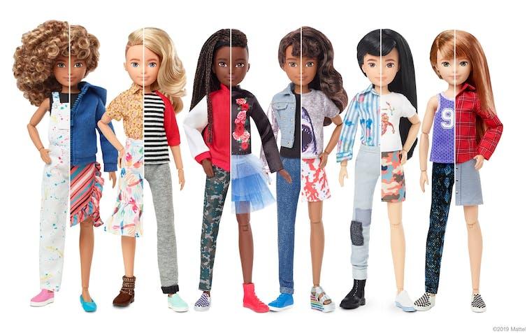 Mattel gender neutral dolls