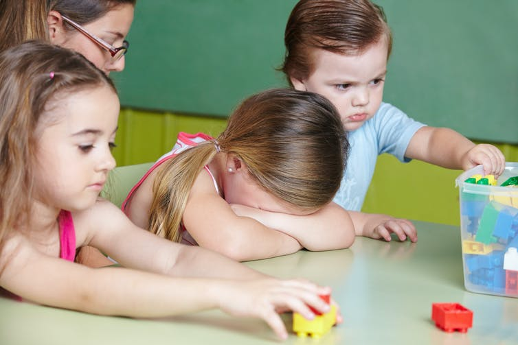 From childcare to high school – what to do if you don't like your kid's friend