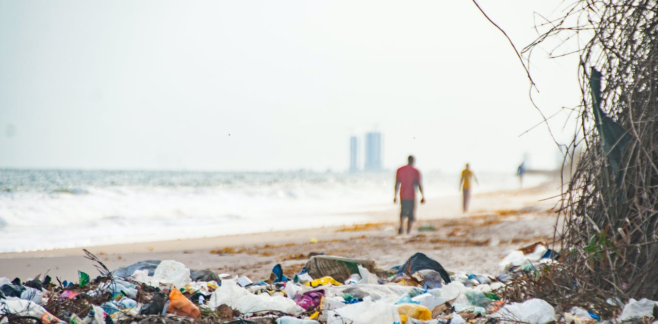 Lagos beaches have a microplastic pollution problem
