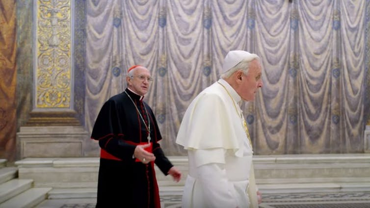 The Two Popes: a mixed bag theologically and politically, with bravura performances