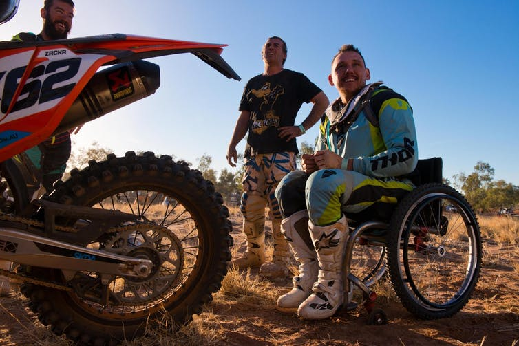 Finke film review: riders daring to fly in a crazy desert race