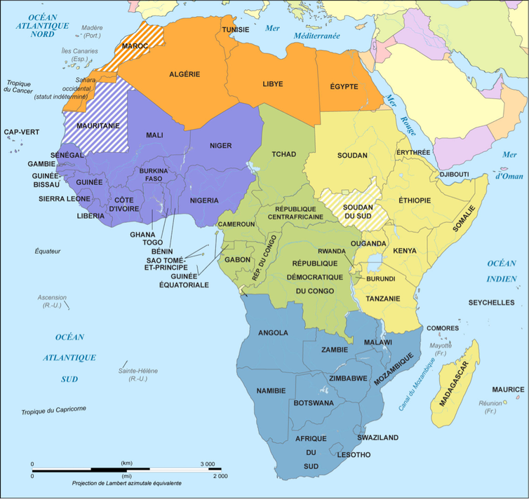 La Securite Collective En Afrique Une Cooperation A Geometrie Variable