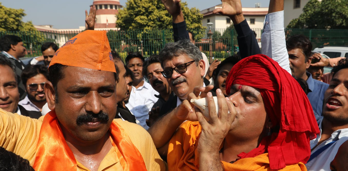 Ayodhya land ruling has thrust history into the centre of Indian politics – what this means for the future