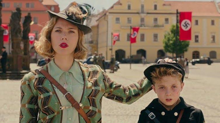 Jojo Rabbit: Hitler humour and a child's eye view of war make for dark satire