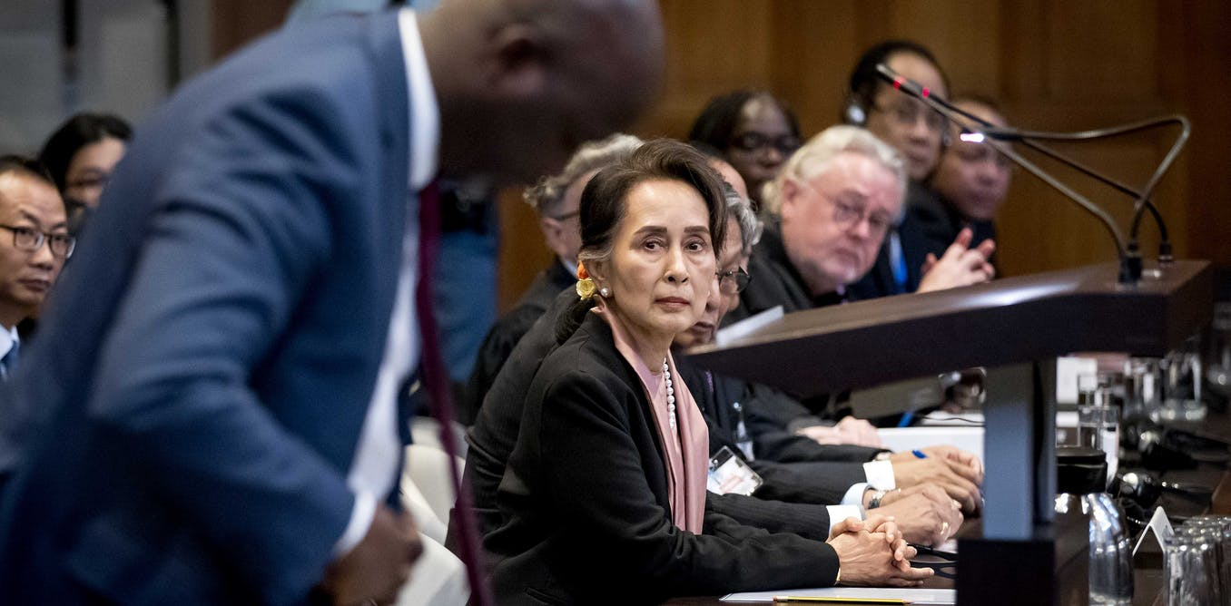 Why Aung San Suu Kyi is in The Hague defending Myanmar against allegations of genocide