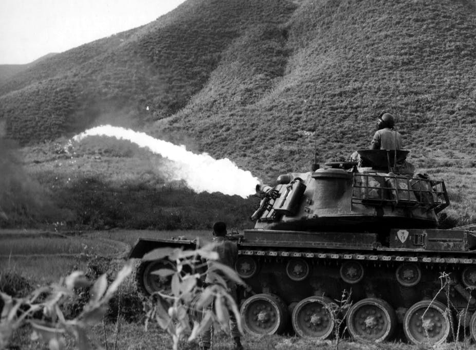 Explainer: what is napalm?
