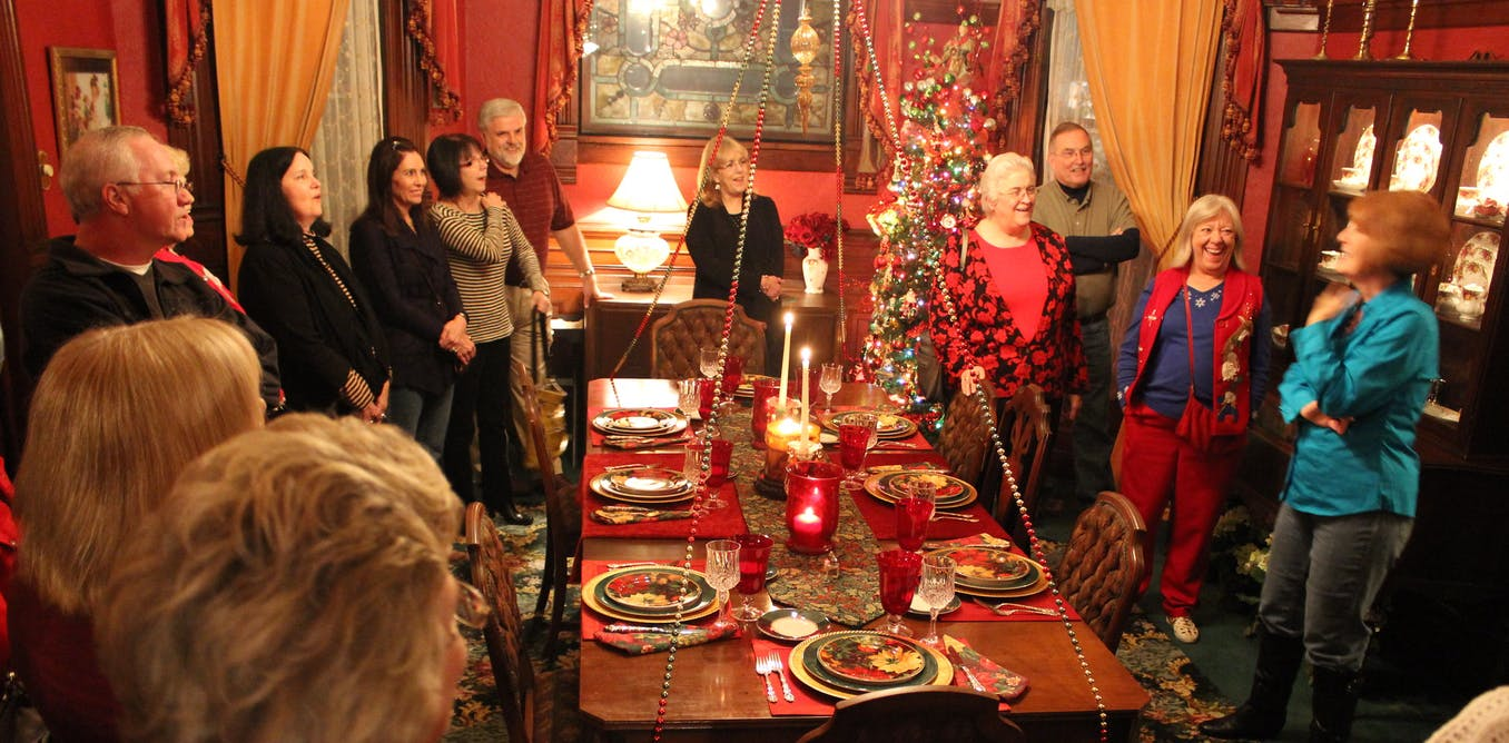 Slave life's harsh realities are erased in Christmas tours of Southern plantations