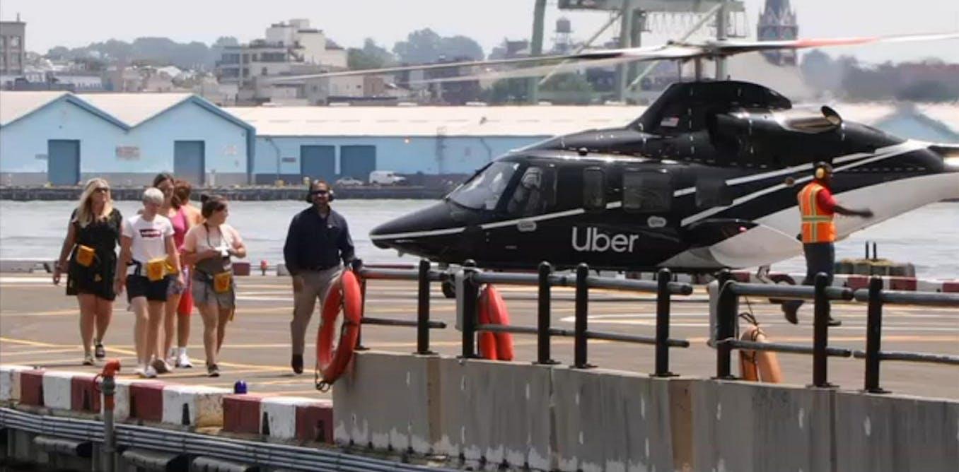 Traverser New York en hélicoptère : une étape pas si futile de l'expansion d'Uber