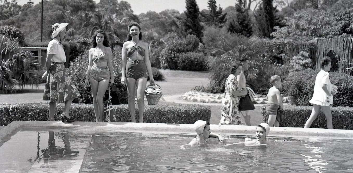 The erotic theatre of the pool edge: a short history of female swimwear