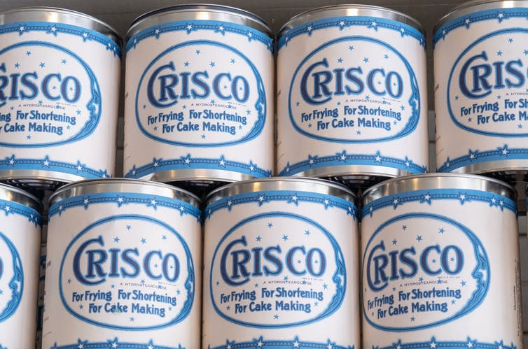 Old Crisco jars