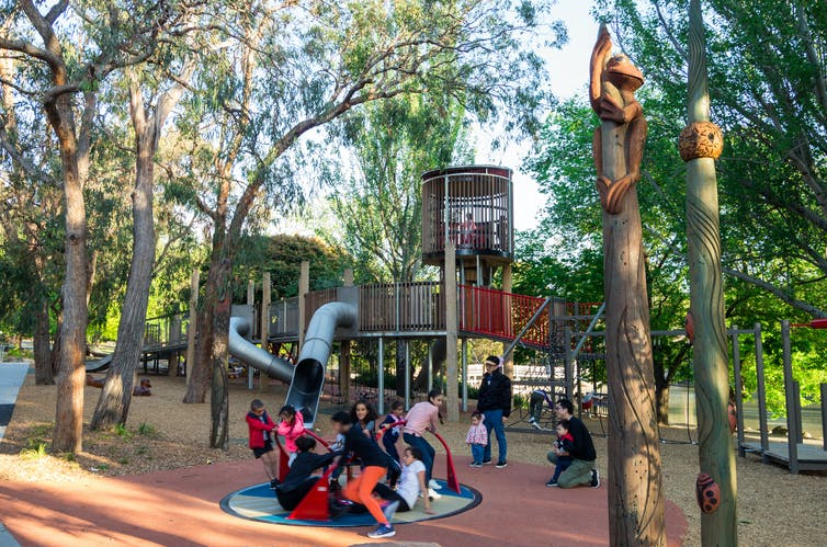 That public playground is good for your kids and your wallet