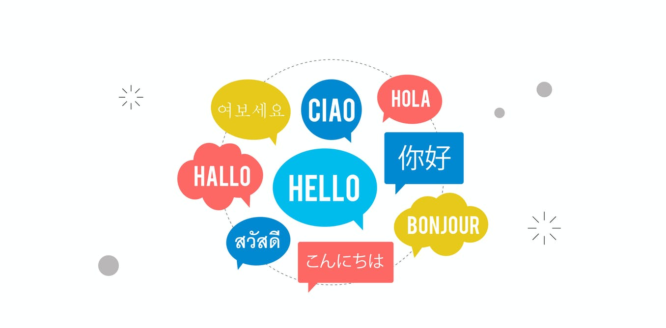 Why do people in different countries speak different languages?