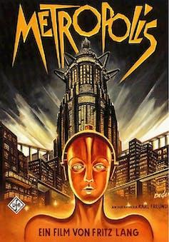 Cartel de la película Metrópolis (Fritz lang, 1927)