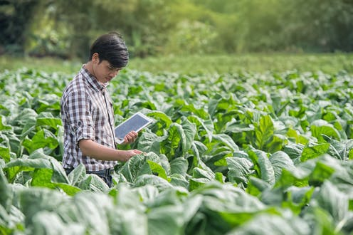 Nature and technology can combine to help farms of the future nourish the earth and its inhabitants.