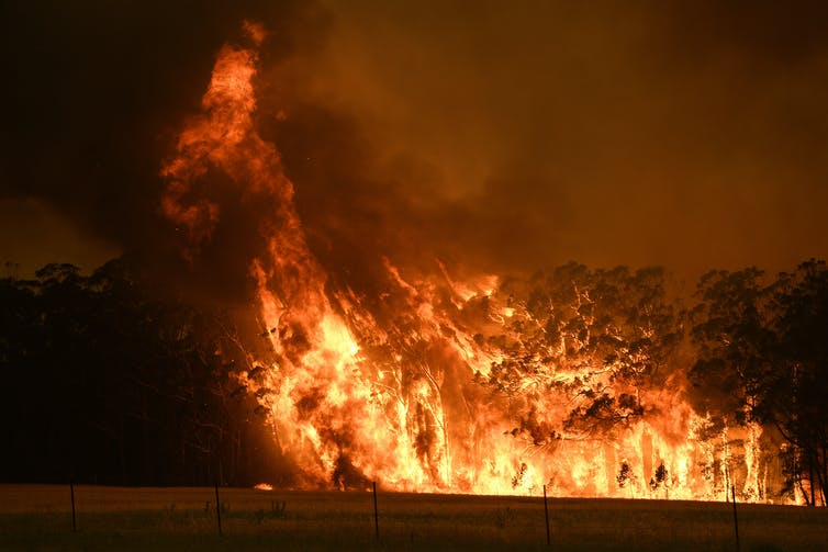 There's only one way to make bushfires less powerful: take out the stuff that burns