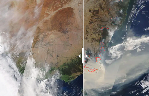 'This crisis has been unfolding for years': 4 photos of Australia from space, before and after the bushfires