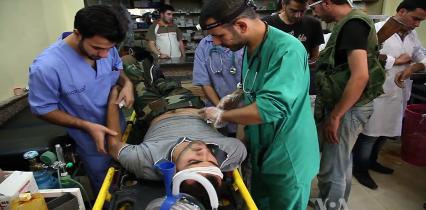 Deadly challenge of keeping Syria health-care workers safe
