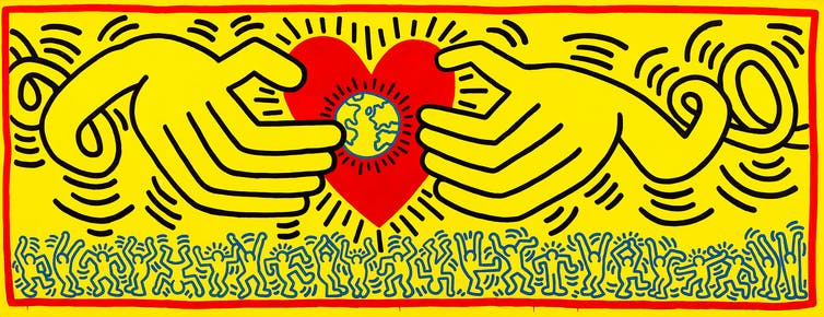 Why did the NGV put Keith Haring back in the closet?