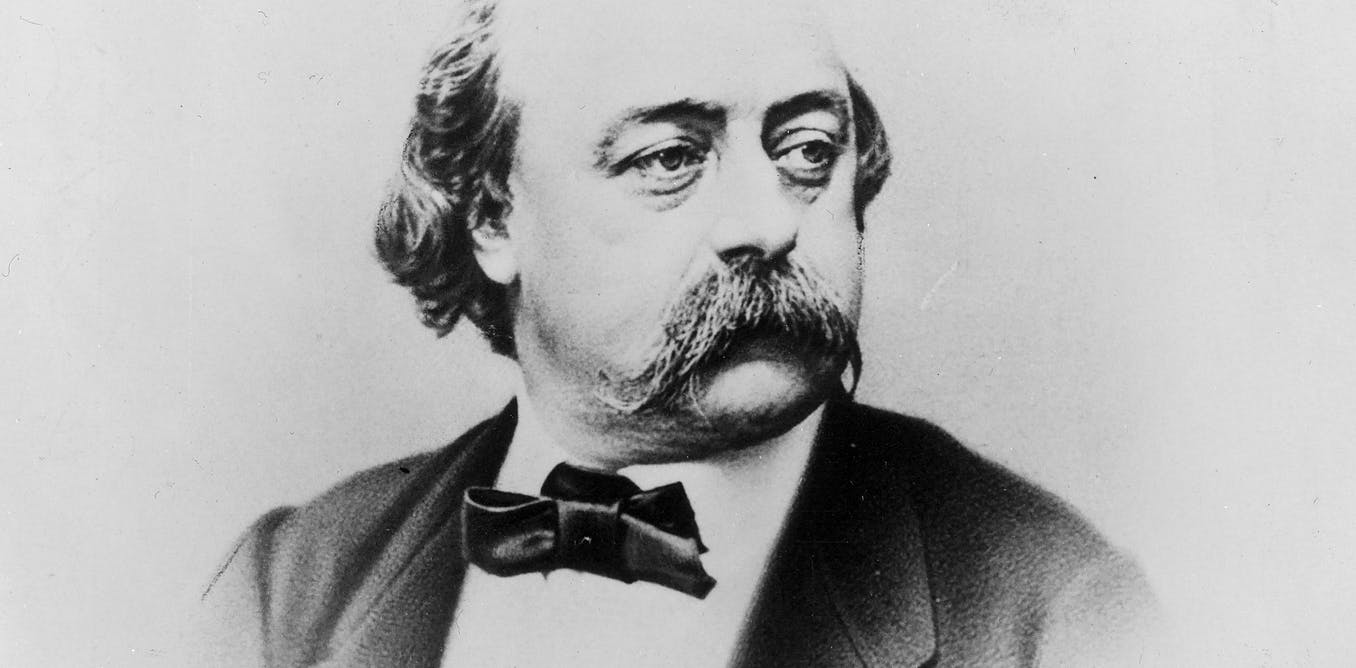 We're living in the bizarre world that Flaubert envisioned
