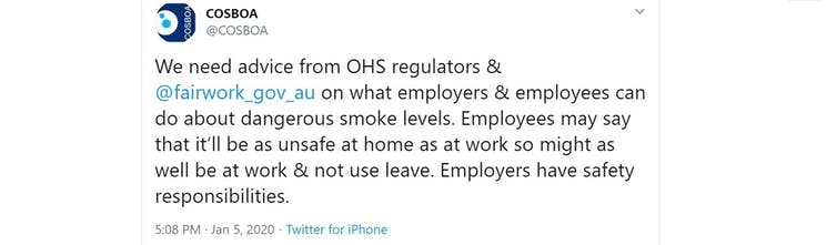 What employers need to know: the legal risk of asking staff to work in smokey air