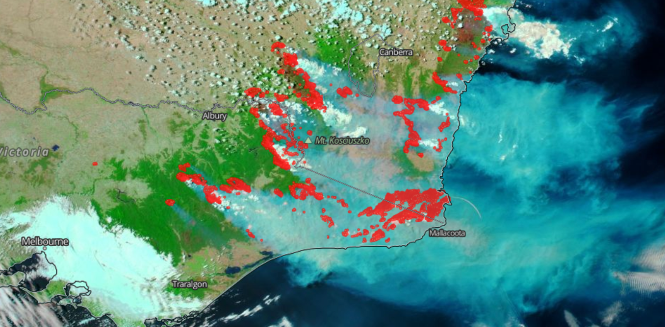 6 things to ask yourself before you share a bushfire map on social media