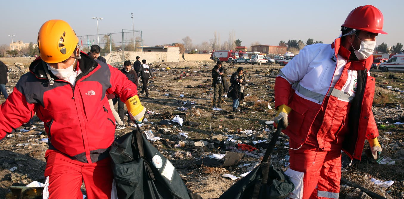 What investigators should be looking for in the Iran plane crash: an expert explains