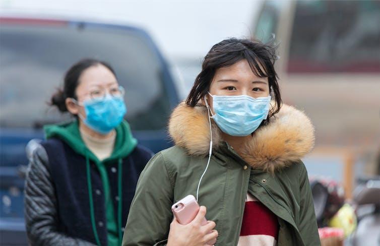 coronavirus pneumonia outbreak