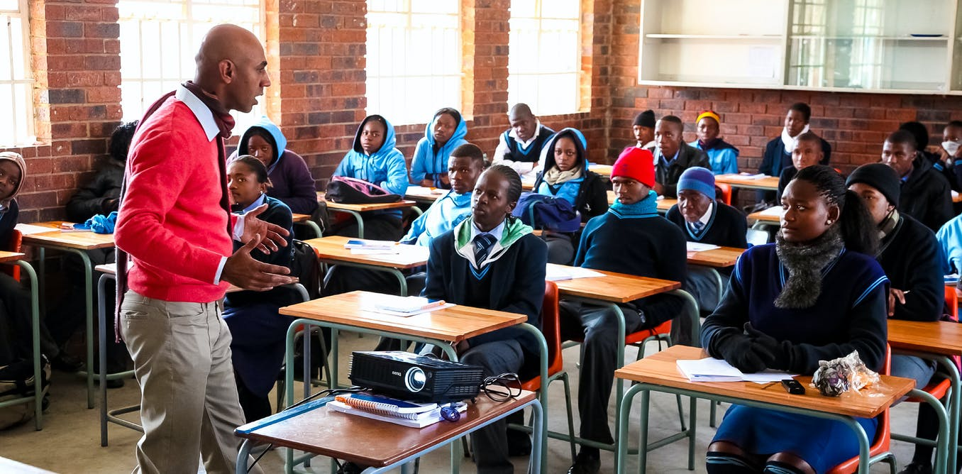 Maths teachers in South Africa: case study shows what's missing
