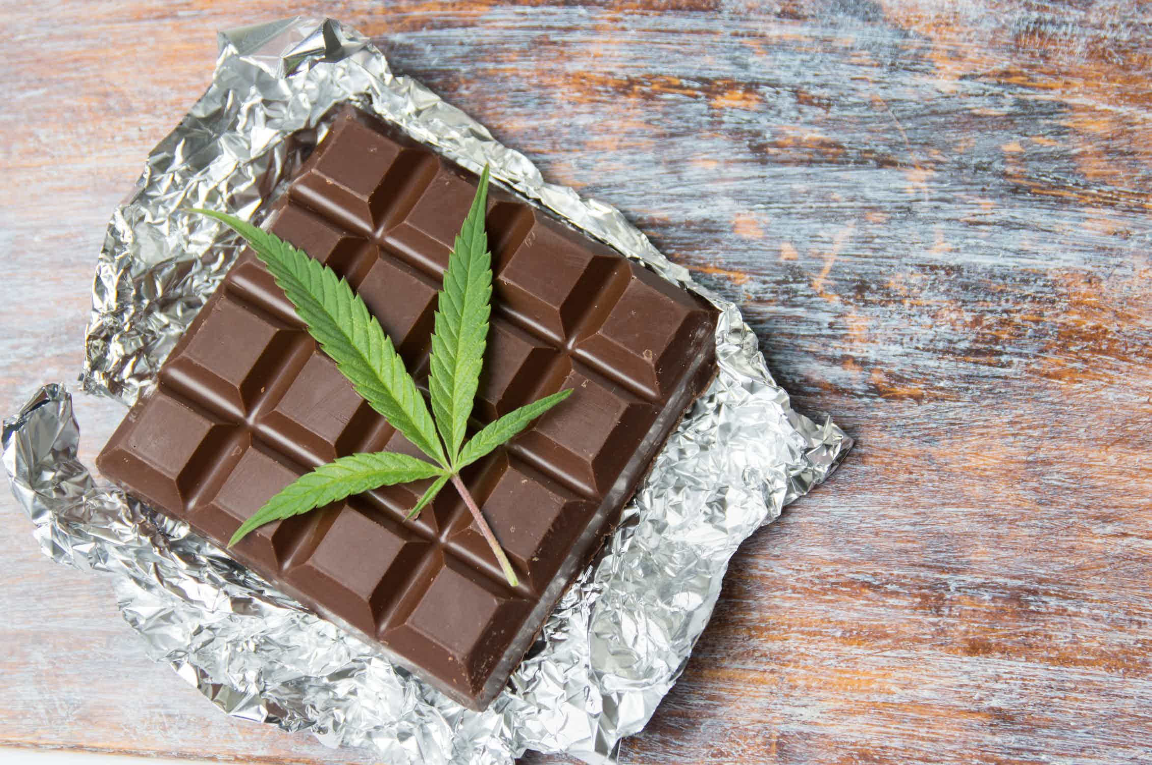 эффект от конопли в шоколаде