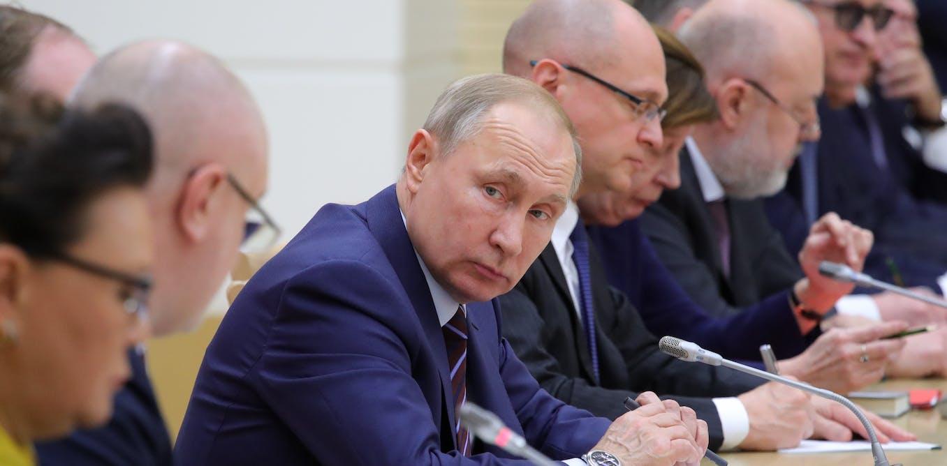 Russia's constitutional changes are designed to perpetuate power of Vladimir Putin's elite
