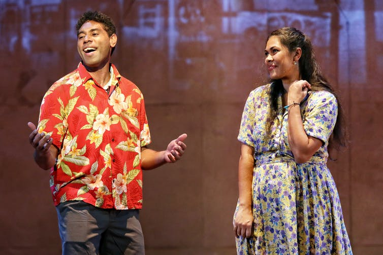 Bran Nue Dae review: exceptional singing and music obscure the political heart of this classic Australian musical