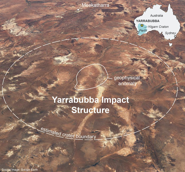 We found the world's oldest asteroid strike in Western Australia. It might have triggered a global thaw