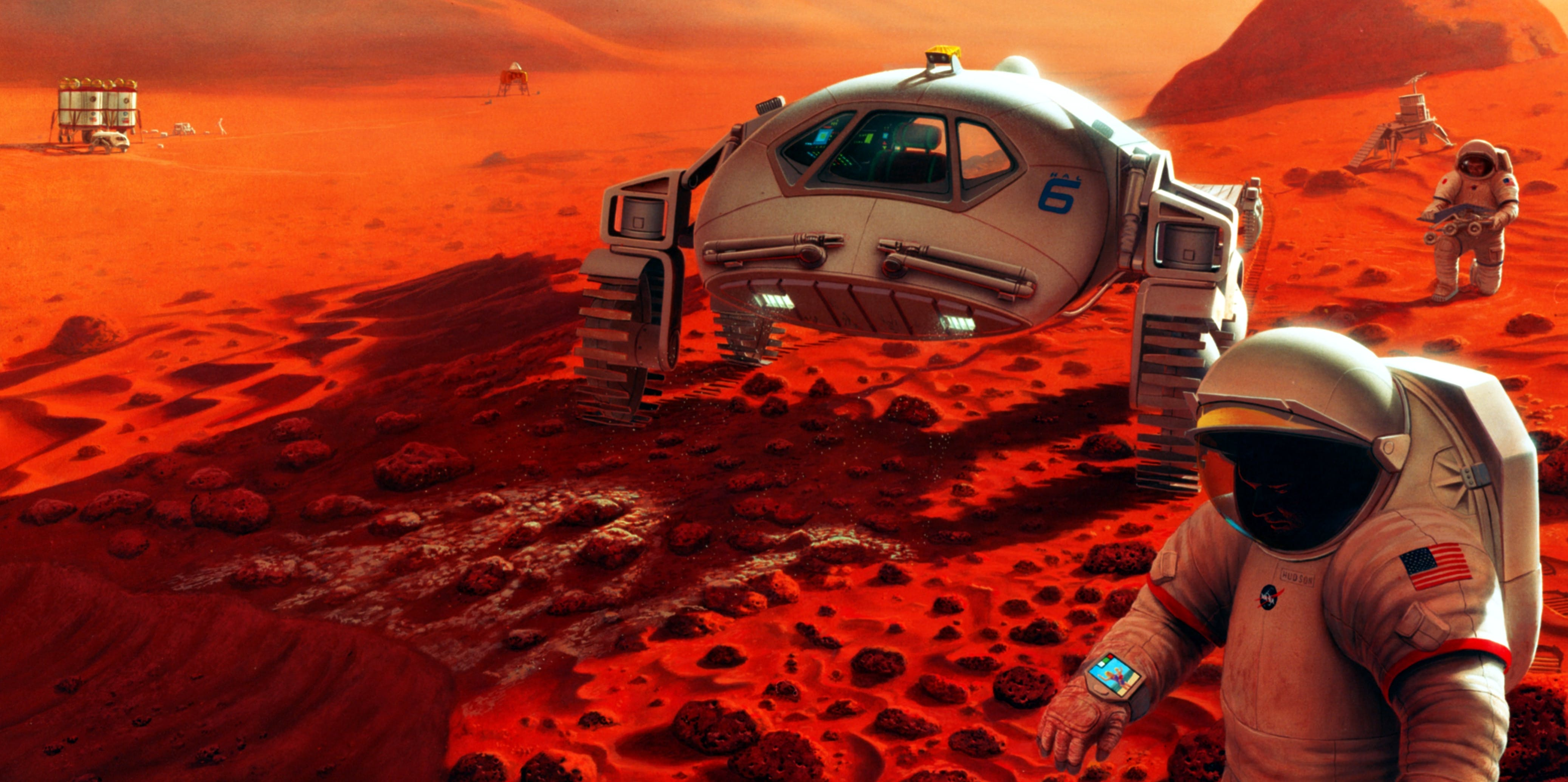 Curious Kids: why can't we put people on Mars? - The Conversation UK