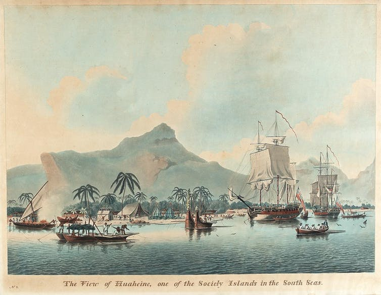 The stories of Tupaia and Omai and their vital role as Captain Cook's unsung shipmates