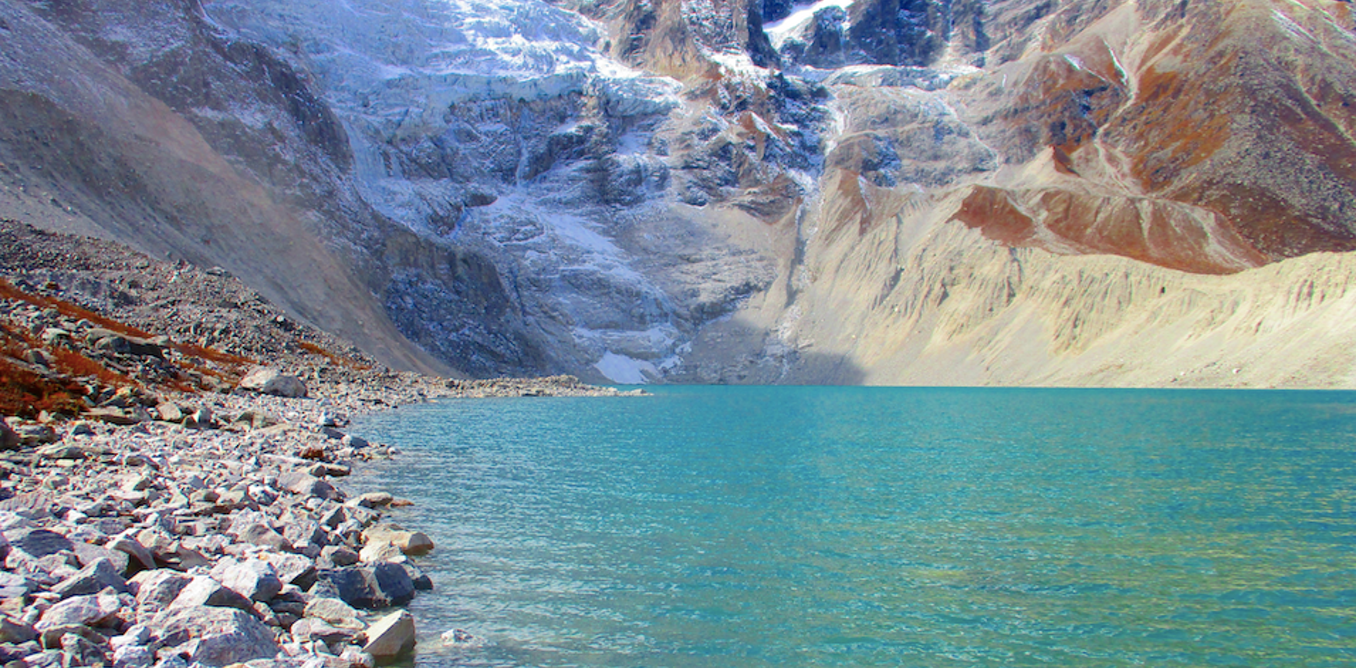 How new meltwater lakes are accelerating shrinkage of glaciers in the Himalaya