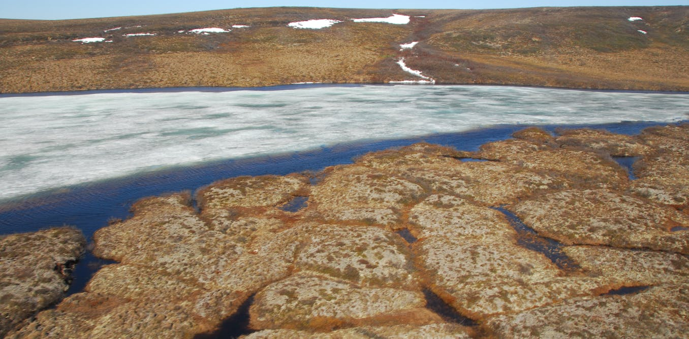 Collapsing permafrost is transforming Arctic lakes, ponds and streams