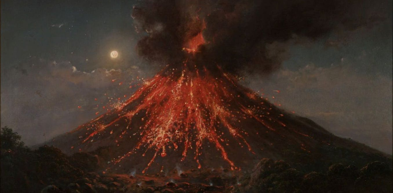 Did a volcanic eruption in Indonesia really lead to the creation of Frankenstein?