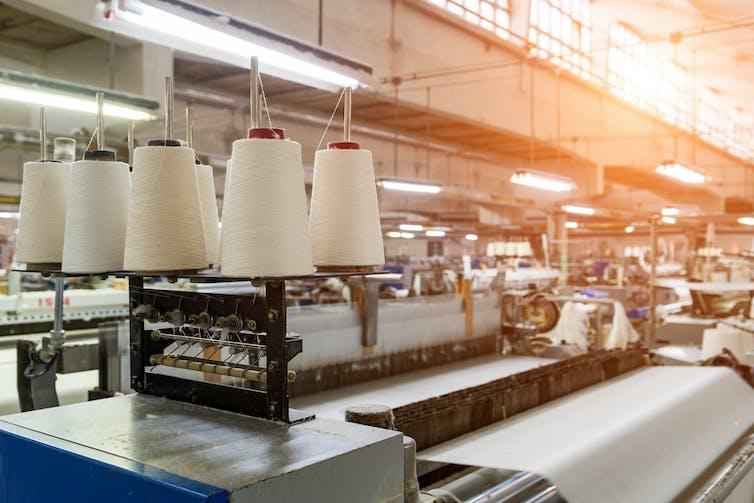 Linen factory