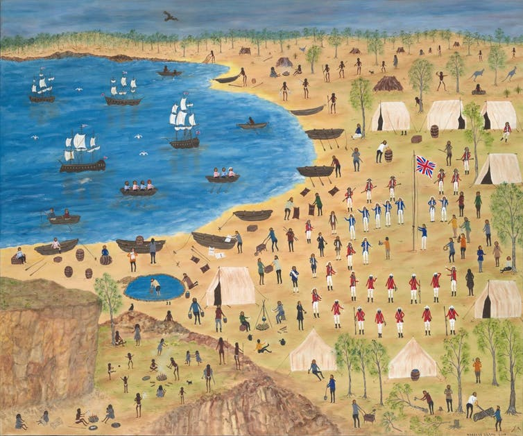 Captain James Cook and absent presence in First Nations art