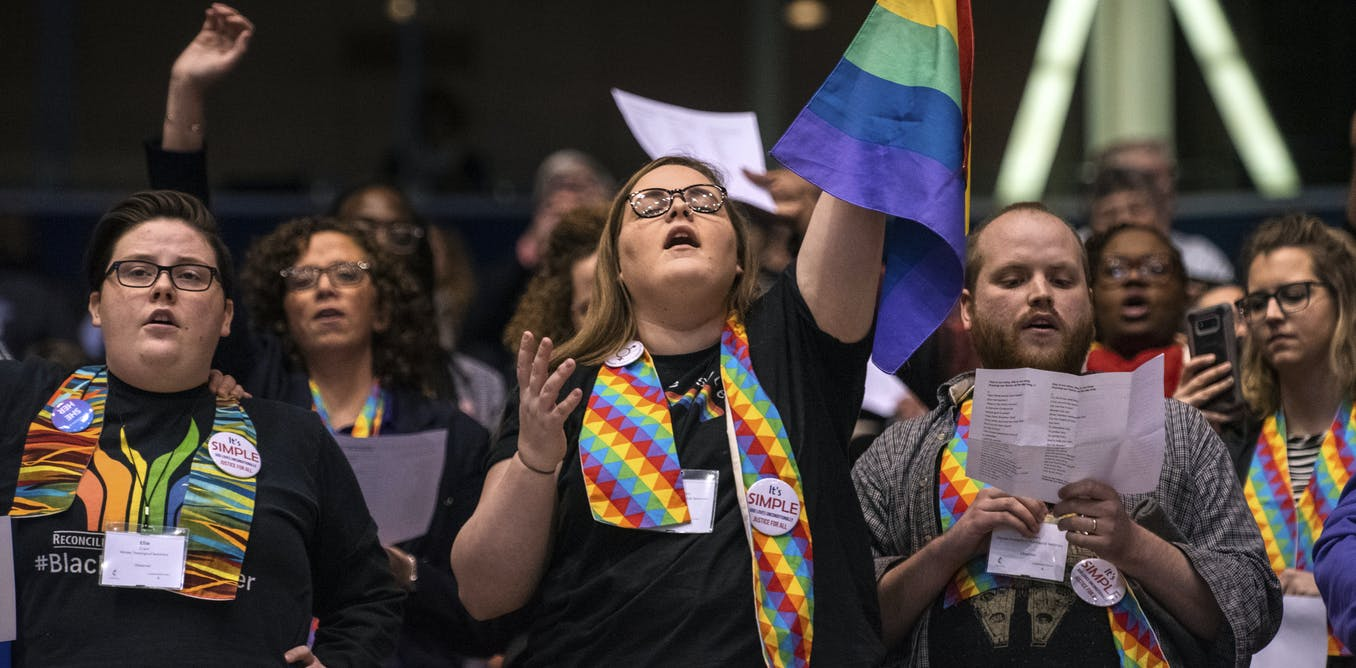 Gay rights dispute is pulling apart the United Methodist Church, after decades of argument