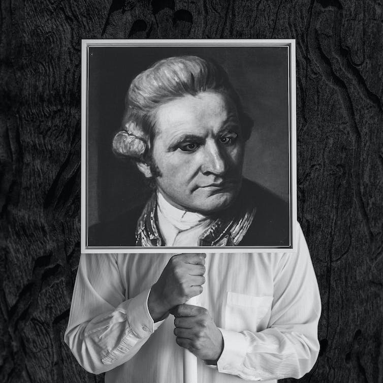 Terra nullius interruptus: Captain James Cook and absent presence in First Nations art