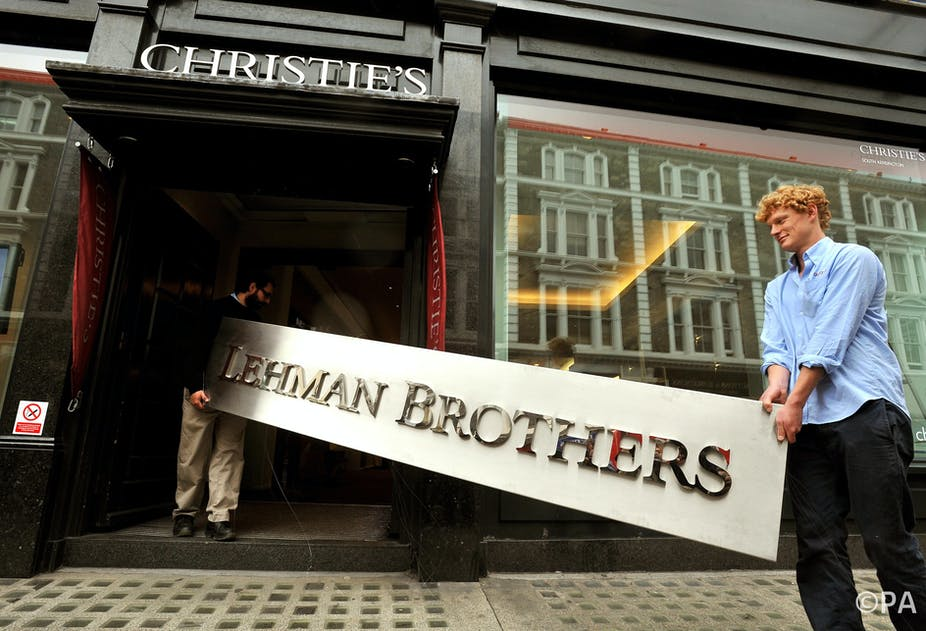 Banking's Lehman lesson is that change must be cultural