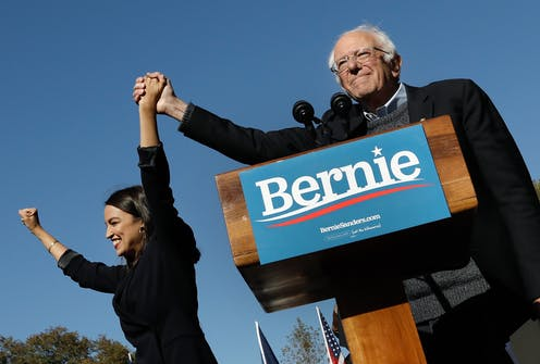 With four days remaining, Sanders leads narrowly in Iowa, but Biden leads nationally