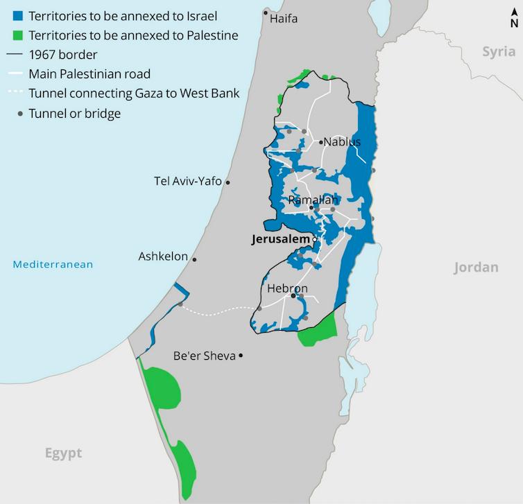 Donald Trump « autorise » Israël à annexer ses colonies, illégales au regard du droit international. Haaretz