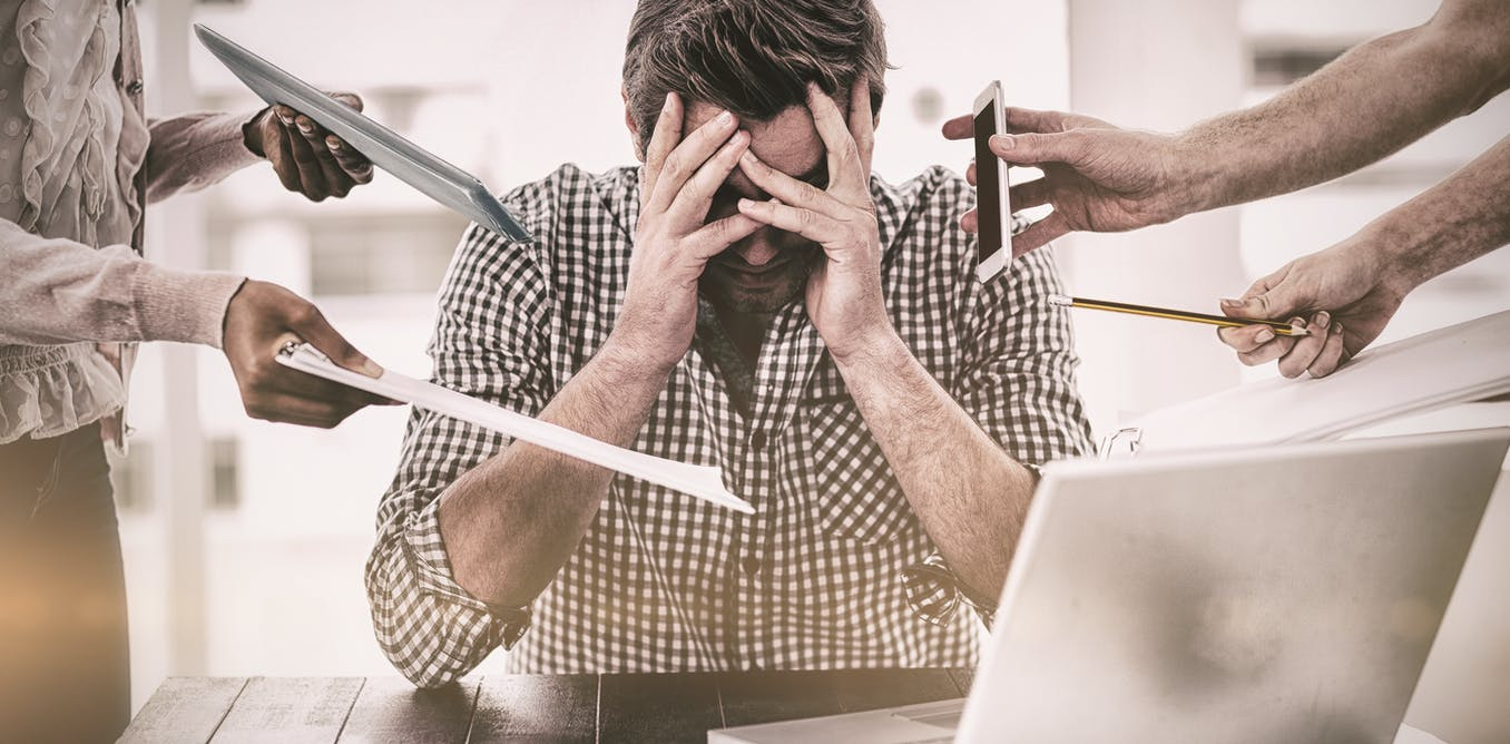 Reduce stress at work and prevent burnout – a psychologist explains how